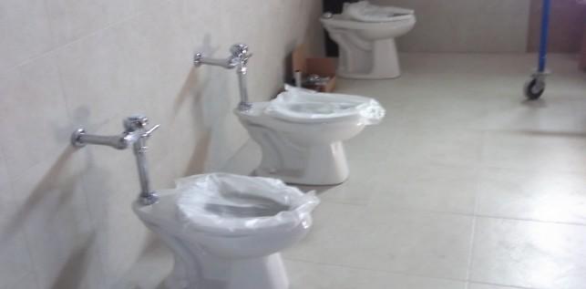 WC con Fluxometros