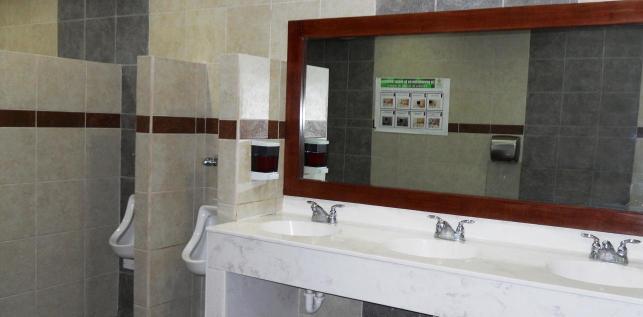 Baños Maquiladora: Placa Lavabos, Espejos, Azulejo, Mezcladoras