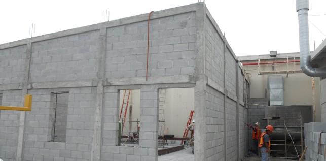 Muro, Cerramiento y Columnas