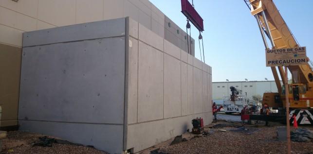 Muros Tilt-Up Colocados