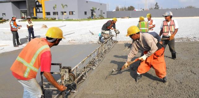Vaciado de concreto hidráulico